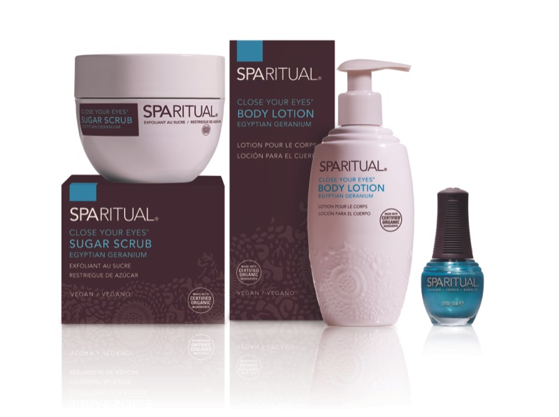 spa ritual your eyes